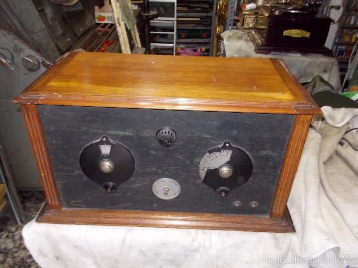 Radios de válvulas: Radio cofre años 20 - Foto 17 - 56535279