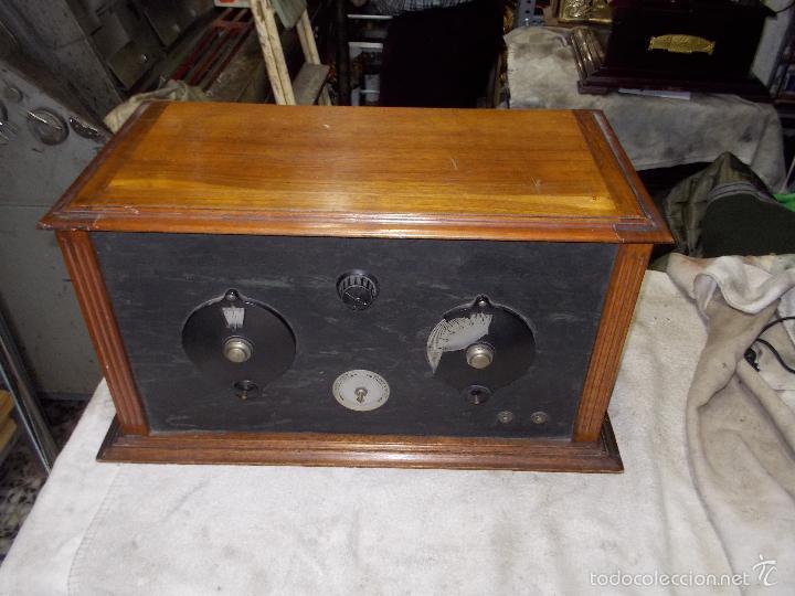 Radios de válvulas: Radio cofre años 20 - Foto 18 - 56535279