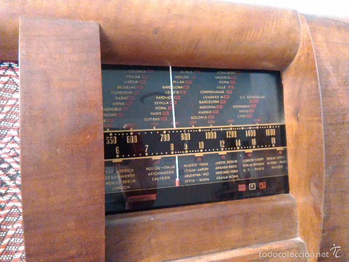 Radios de válvulas: RADIO MUY ANTIGUA FUNCIONA MUY BIEN - Foto 4 - 56568230