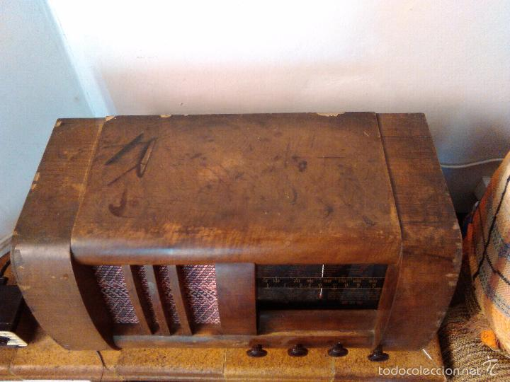 Radios de válvulas: RADIO MUY ANTIGUA FUNCIONA MUY BIEN - Foto 5 - 56568230