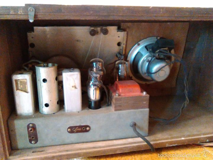 Radios de válvulas: RADIO MUY ANTIGUA FUNCIONA MUY BIEN - Foto 7 - 56568230