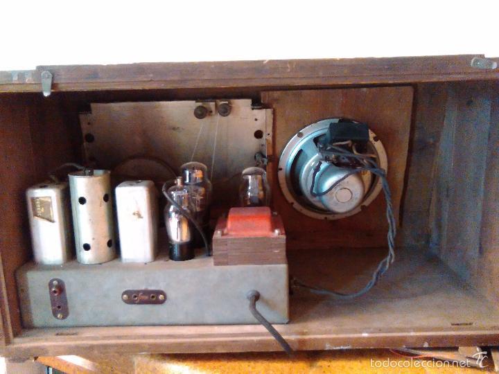 Radios de válvulas: RADIO MUY ANTIGUA FUNCIONA MUY BIEN - Foto 8 - 56568230