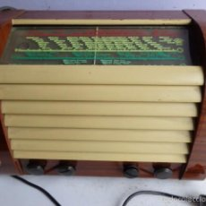 Radios de válvulas: MUY ANTIGUO AÑOS 40 E IMPORTANTE RADIO A VALVULAS 0RION TYP 86, FUNCIONANDO PERFECTO A 220 VOLTIOS. Lote 56731935