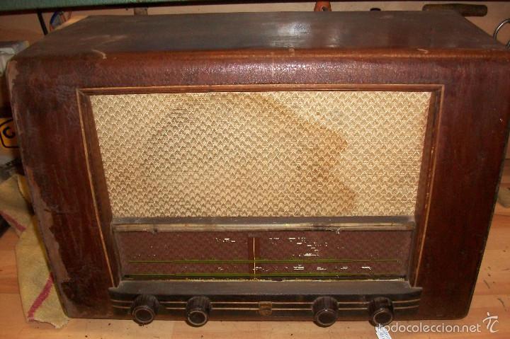 ANTIGUA RADIO PHILIPS-MODELO BE-421-A (Radios, Gramófonos, Grabadoras y Otros - Radios de Válvulas)