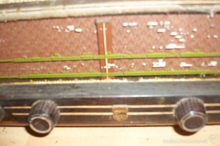 Radios de válvulas: ANTIGUA RADIO PHILIPS-MODELO BE-421-A - Foto 2 - 56836791