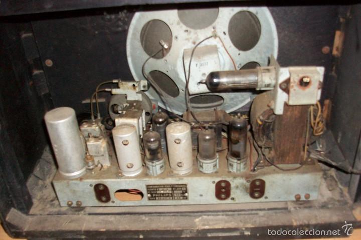 Radios de válvulas: ANTIGUA RADIO PHILIPS-MODELO BE-421-A - Foto 5 - 56836791