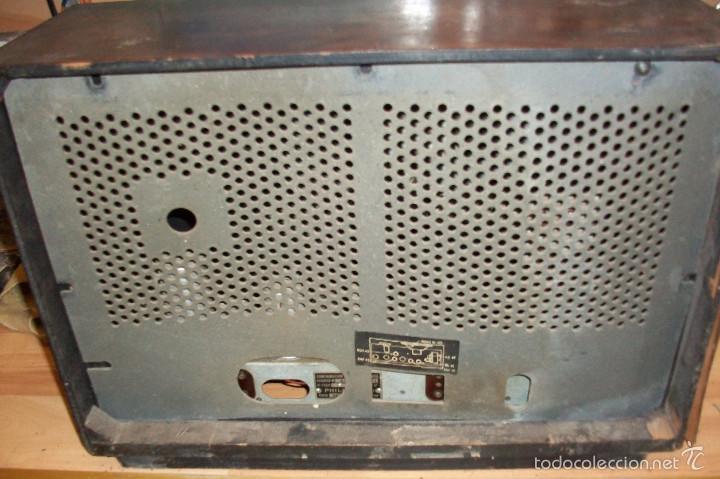 Radios de válvulas: ANTIGUA RADIO PHILIPS-MODELO BE-421-A - Foto 6 - 56836791