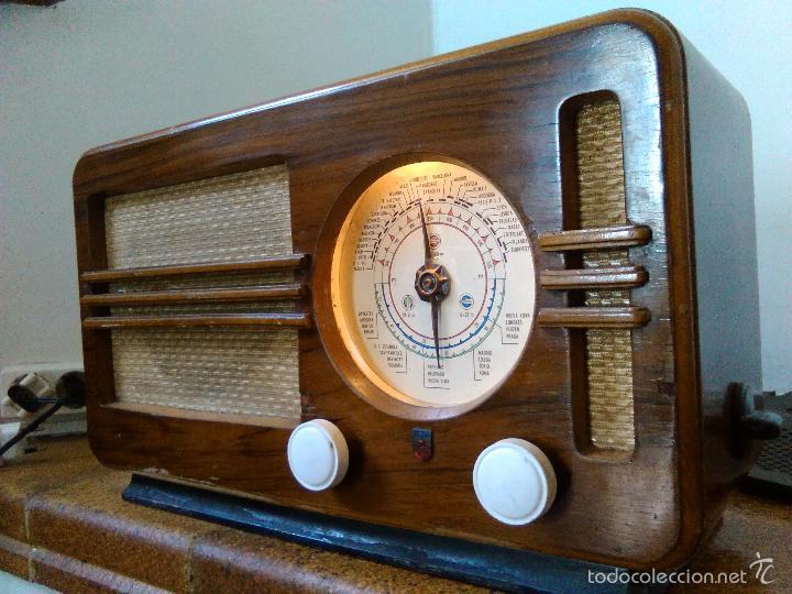 Radios de válvulas: RADIO PHILIPS FUNCIONA - Foto 5 - 196492707