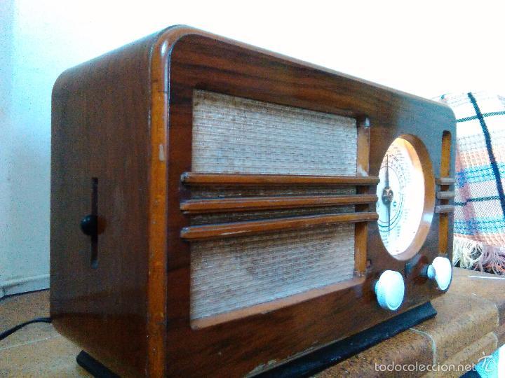 Radios de válvulas: RADIO PHILIPS FUNCIONA - Foto 7 - 196492707