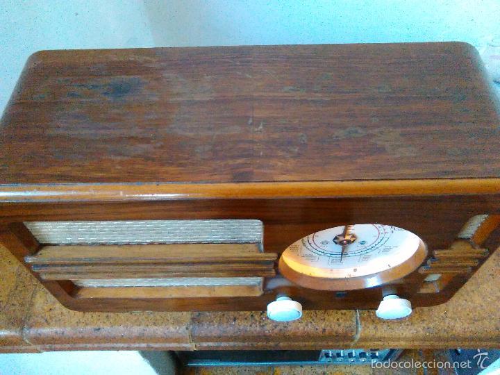 Radios de válvulas: RADIO PHILIPS FUNCIONA - Foto 8 - 196492707
