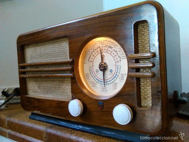 Radios de válvulas: RADIO PHILIPS FUNCIONA - Foto 2 - 196492707