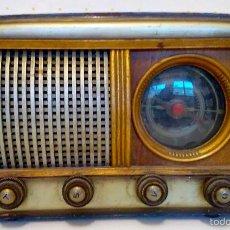 Radios de válvulas: RADIO VÁLVULAS CON DIAL - USO COMO AMPLIFICADOR. Lote 57276529