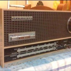 Radios de válvulas: ANTIGUA RADIO MADERA. Lote 57320419