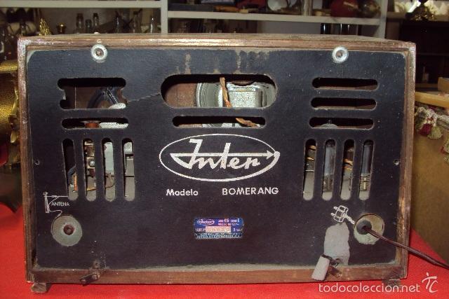 Radios de válvulas: Radio Inter - Foto 3 - 57660311