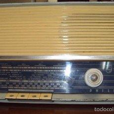 Radios de válvulas: RADIO PHILIPS AÑOS 50 FUNCIONANDO.. Lote 57702569