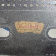 Radios de válvulas: ANTIGUA TRASERA DE FRANCO AMERICANA RADIO DE VÁLVULAS VAYARD 51 TSF-SON-FROID ( RADIOFROID ). Lote 57727311