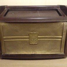 Radios de válvulas: RADIO RADIOLA DE BAQUELITA. Lote 74681081