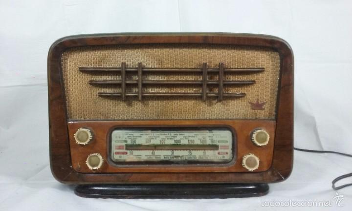 RADIO FIRTS RADIO (Radios, Gramófonos, Grabadoras y Otros - Radios de Válvulas)