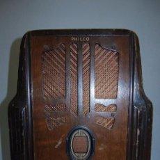 Radios de válvulas: RADIO DE VÁLVULAS DE LA FIRMA PHILCO. Lote 72748938