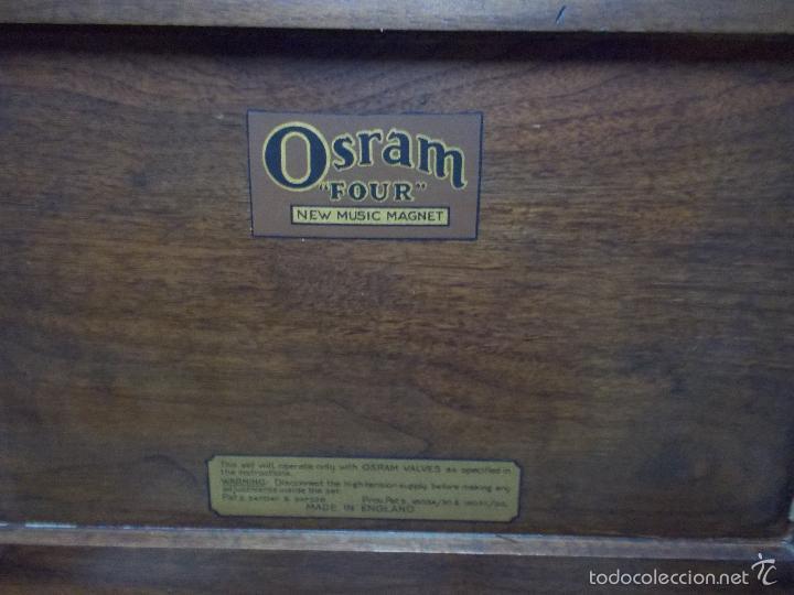 Radios de válvulas: Radio Osram - Foto 11 - 58278570