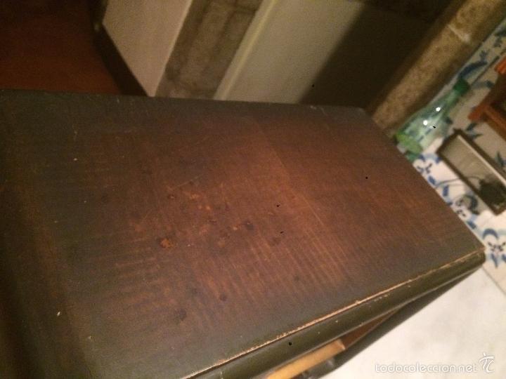 Radios de válvulas: Antigua radio a Válvulas de madera y dial cuadrado de cristal años 30-40 - Foto 10 - 58447279