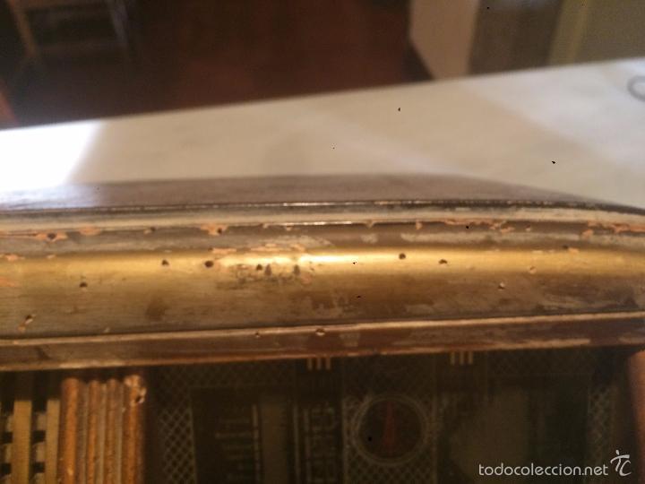 Radios de válvulas: Antigua radio a Válvulas de madera y dial cuadrado de cristal años 40 radio marca Brunet - Foto 9 - 58447353