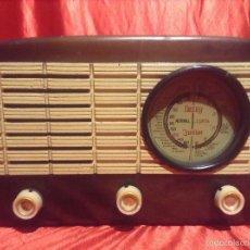 Radios de válvulas: RADIO VALVULAS DERVY JUNIOR. Lote 49173925