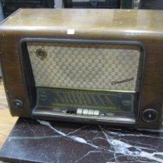 Radios de válvulas: TELEFUNKEN CONCERTINO 55 RADIO GRANDE, COMPLETA, NO FUNCIONA MEDIDA ALTURA 43 CM. ANCHO 60 X 30 CM. Lote 59850920