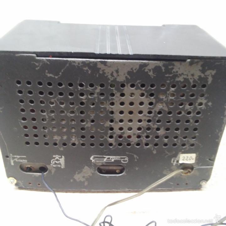 Radios de válvulas: VINTAGE, PRECIOSA RADIO ANTIGUA DE VALVULAS AMERICANA EN BAQUELITA NEGRA * FUNCIONANDO * - Foto 5 - 59864928