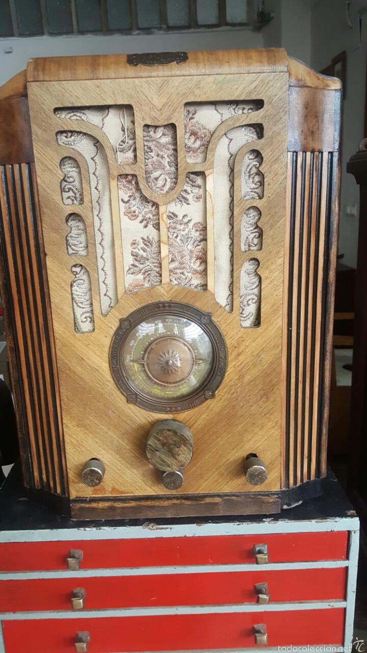 ANTIGUA RADIO DE VALVULAS, STEWARD GARNER (Radios, Gramófonos, Grabadoras y Otros - Radios de Válvulas)