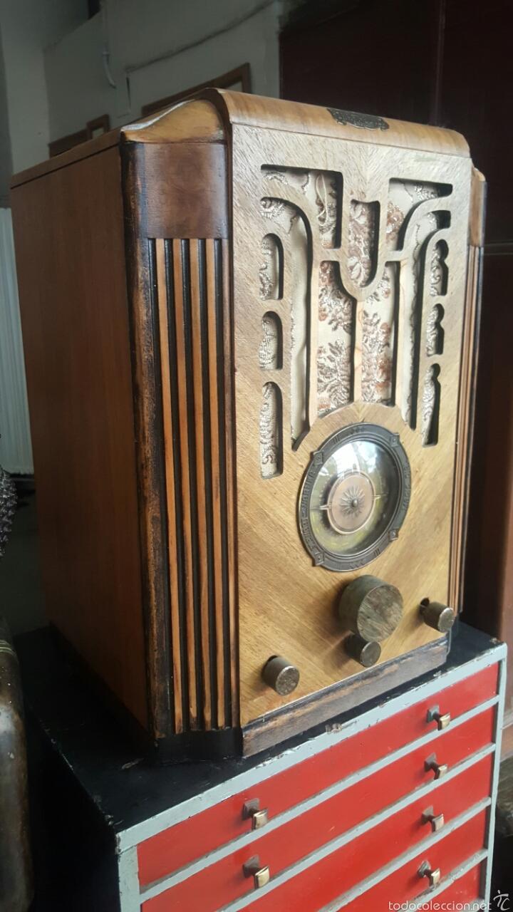 Radios de válvulas: Antigua radio de valvulas, STEWARD GARNER - Foto 2 - 60864181