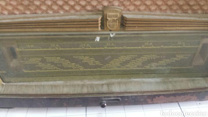 Radios de válvulas: Radio Antigua Philips años 50 - Foto 2 - 145547326