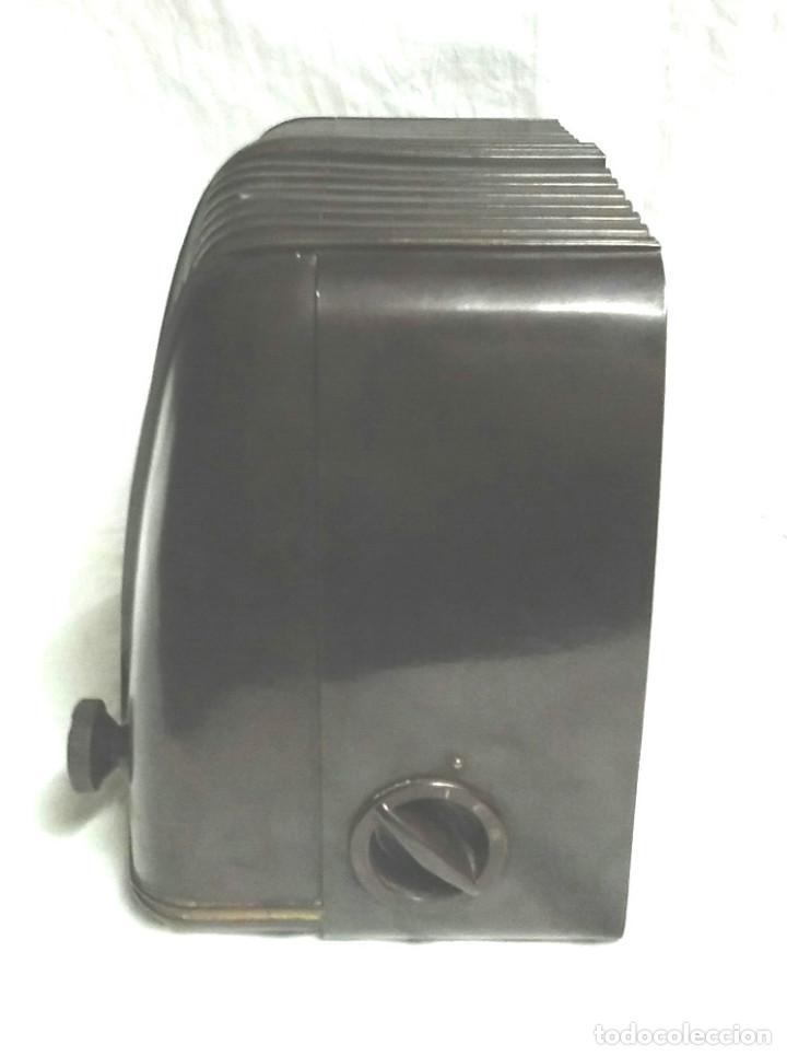 Radios de válvulas: Telefunken Trovador U1653 año 1953, baquelita en buen estado, funciona. - Foto 4 - 103767455