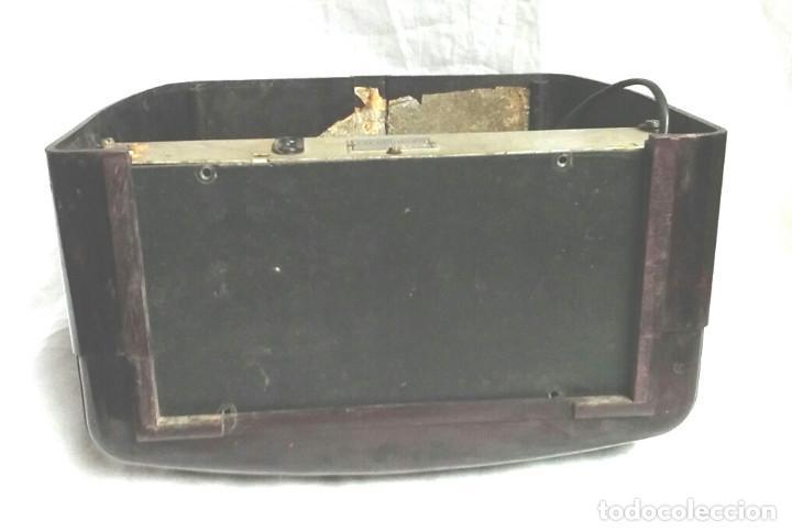 Radios de válvulas: Telefunken Trovador U1653 año 1953, baquelita en buen estado, funciona. - Foto 5 - 103767455
