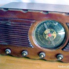 Radios de válvulas: ANTIGUA RADIO MADERA - MODELO 850 G - DIAL REDONDO - HONDA CORTA NORMAL -850G. Lote 62802332