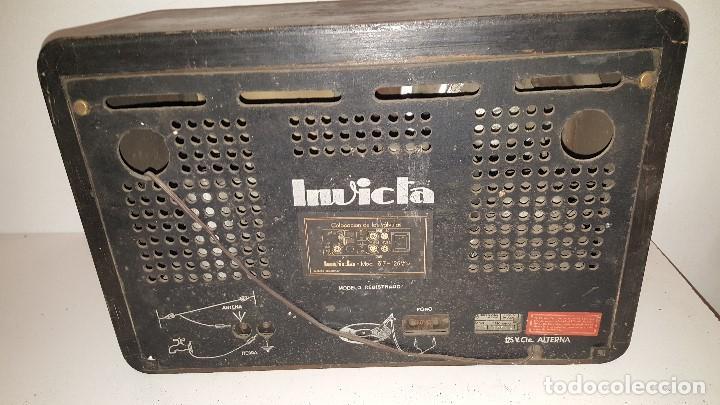Radios de válvulas: RADIO INVICTA - Foto 3 - 63367628