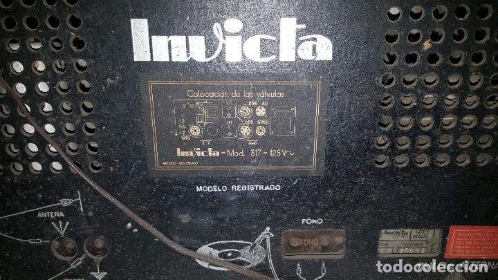 Radios de válvulas: RADIO INVICTA - Foto 4 - 63367628