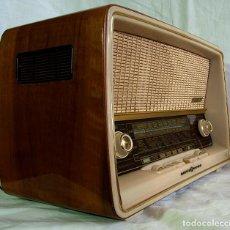 Radios de válvulas: ANTIGUA RADIO DE VÁLVULAS LOEWE. Lote 63687355