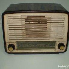 Radios de válvulas: RADIO DE VALVULAS PHILIPS MOD-BE452A ¡¡¡¡FUNCIONA!!!!.. Lote 64393135
