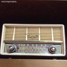 Radios de válvulas: RADIO INTER DE VALVULAS DE DISEÑO. MODELO SUDÁN. MUY RARO ENTRE LOS COLECCIONISTAS. FUNCIONA. Lote 64922291