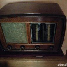 Radios de válvulas: GRAN RADIO DE MADERA DE VALVULAS MARCA ¿COOL BART?. DE LOS AÑOS 30. FUNCIONANDO. Lote 66941518