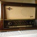 Radios de válvulas: RADIO LEBETLE DE LUZ VERDE. Lote 66959078