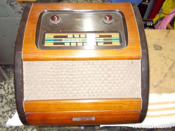 Radios de válvulas: Radio philco funcionando - Foto 2 - 67741889