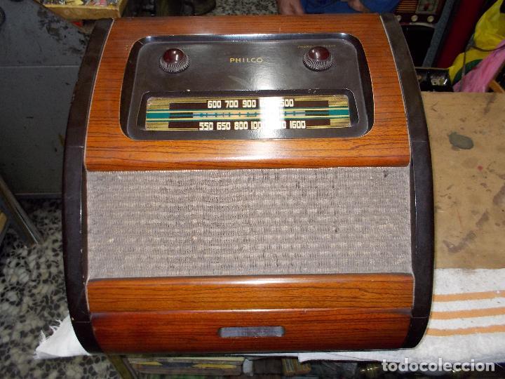 Radios de válvulas: Radio philco funcionando - Foto 3 - 67741889