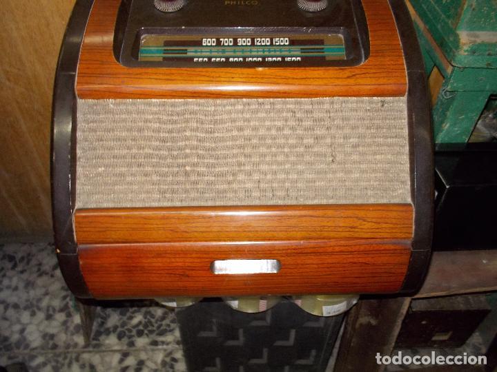 Radios de válvulas: Radio philco funcionando - Foto 12 - 67741889