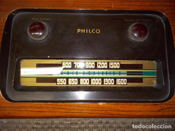 Radios de válvulas: Radio philco funcionando - Foto 13 - 67741889