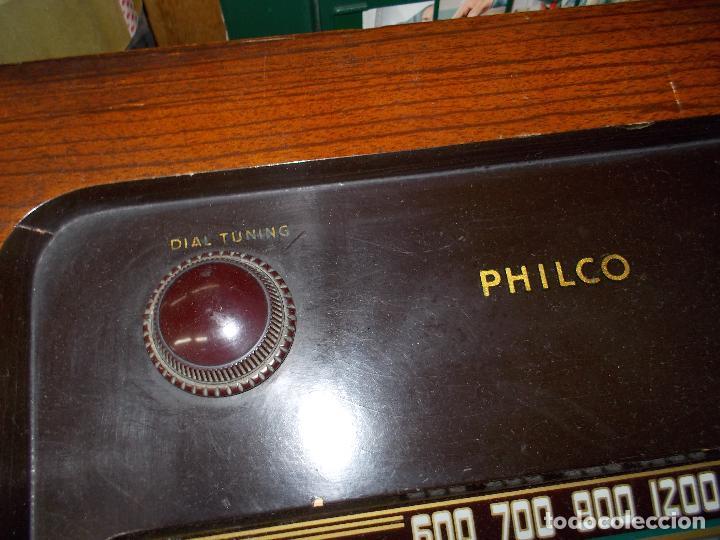 Radios de válvulas: Radio philco funcionando - Foto 14 - 67741889