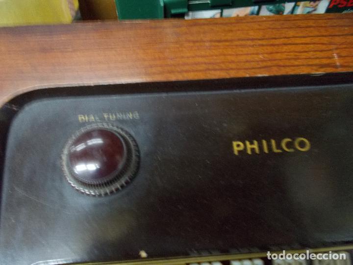 Radios de válvulas: Radio philco funcionando - Foto 15 - 67741889