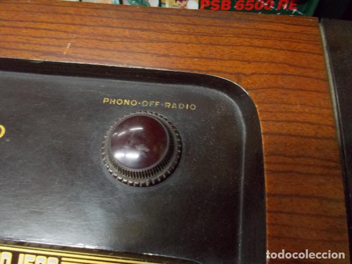 Radios de válvulas: Radio philco funcionando - Foto 16 - 67741889