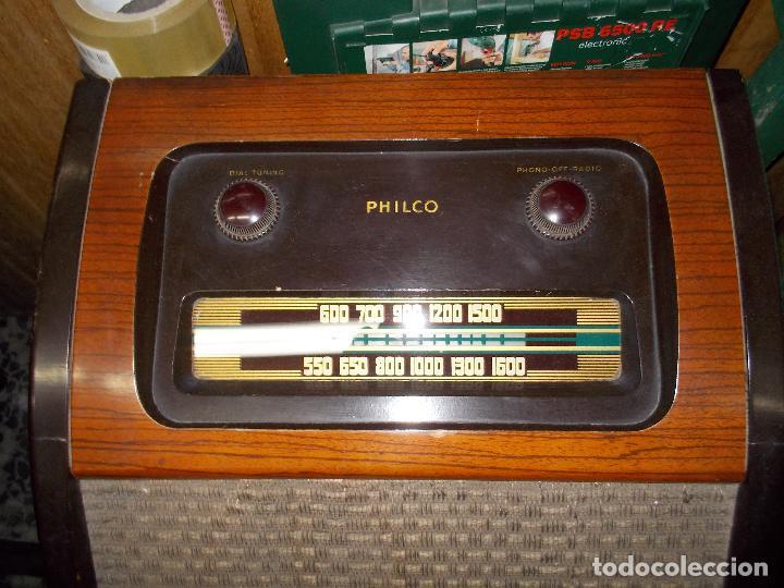 Radios de válvulas: Radio philco funcionando - Foto 17 - 67741889